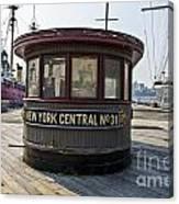 Historic Pier Canvas Print