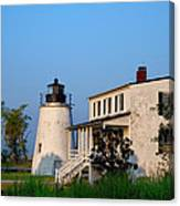 Historic Piney Point Lighthouse Canvas Print