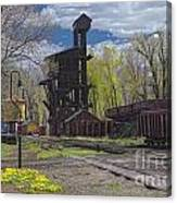 Historic Railroad Canvas Print