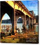 Historic Siuslaw River Bridge Canvas Print