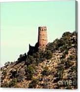 Historic Tower Of Grand Canyon Canvas Print