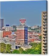 Historic Western Auto Building Kansas City  Missouri Canvas Print