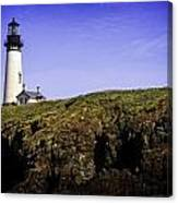 Historic Yaquina Lighthouse Canvas Print