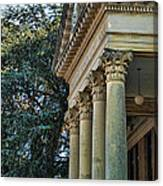Historical Athens Alabama Courthouse Canvas Print