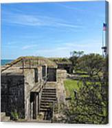 Historical Fort Wool Virginia Landmark Canvas Print