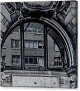 Historical Window Detail Canvas Print