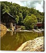 History Along Slippery Rock Creek Canvas Print