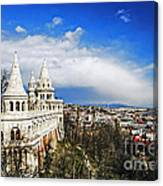 History Of Budapest Canvas Print