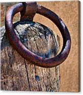 Hitching Post #1 Canvas Print