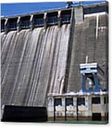 Hiwassee Dam 3 Canvas Print
