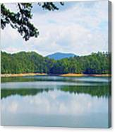 Hiwassee Lake Canvas Print