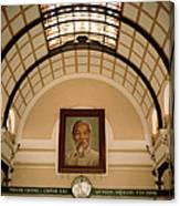 Ho Chi Minh Portrait Canvas Print