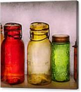 Hobby - Jars - I'm A Jar-aholic  Canvas Print