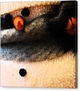 Hobo Snowman Iv Canvas Print