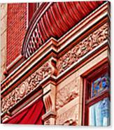 Hoboken Brownstone Art Canvas Print