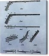 Hockey Stick Patent Canvas Print