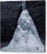 Hocking Hills State Park In Winter Canvas Print