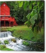 Hodgson Water Mill Canvas Print