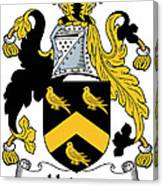 Hodson Coat Of Arms Irish Canvas Print