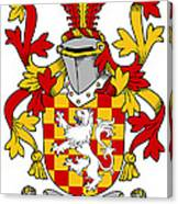Hoey Coat Of Arms Irish Canvas Print
