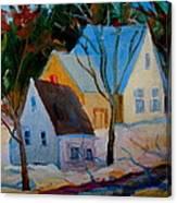 Hog Bay Relics Canvas Print