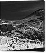 Hogbacks In The Snow Canvas Print