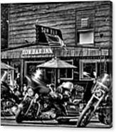 Hogs At The Tow Bar Inn - Old Forge New York Canvas Print