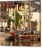 Hoi An Fishing Boat 02 Canvas Print