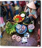 Hoi An Market Canvas Print