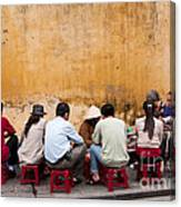 Hoi An Noodle Stall 05 Canvas Print