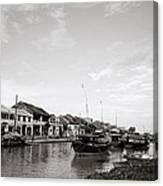Hoi An Riverfront Canvas Print