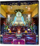 Hoi Thanh Buddhist Temple Canvas Print