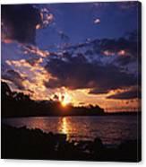 Holga Sunset Canvas Print