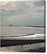 Holgate Calm Surf  Canvas Print