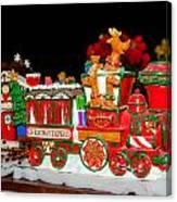 Holiday Express Canvas Print