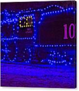 Holiday Express Train Canvas Print