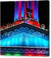 Holiday Lights 2012 Denver City And County Building E3 Canvas Print