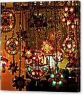 Holiday Lights Canvas Print