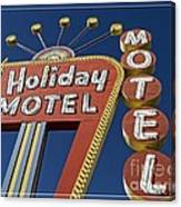 Holiday Motel Las Vegas Canvas Print