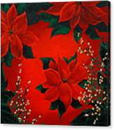 Holiday Pedals Canvas Print