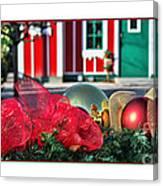 Holiday Reflections Canvas Print