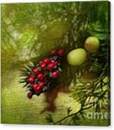 Holiday Season Canvas Print
