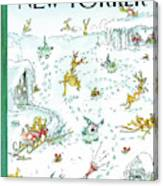 Holiday Spirit Canvas Print