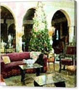 Holiday Time Inside Ringling Canvas Print