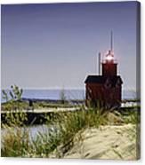 Holland Harbor Light  Canvas Print