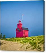 Holland Harbor Lighthouse Mi Canvas Print