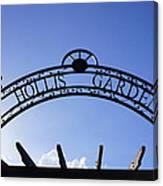 Hollis Gardens Entrance Canvas Print