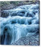 Hollow River Rapids Canvas Print