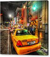 Hollywood Boulevard Canvas Print