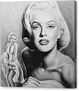 Hollywood Greats Canvas Print
